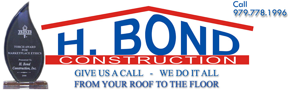 H Bond Construction Home Remodeling Roofing Repairs